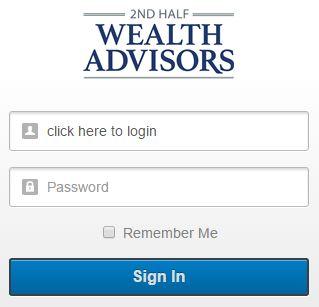 Financial Dashboard login